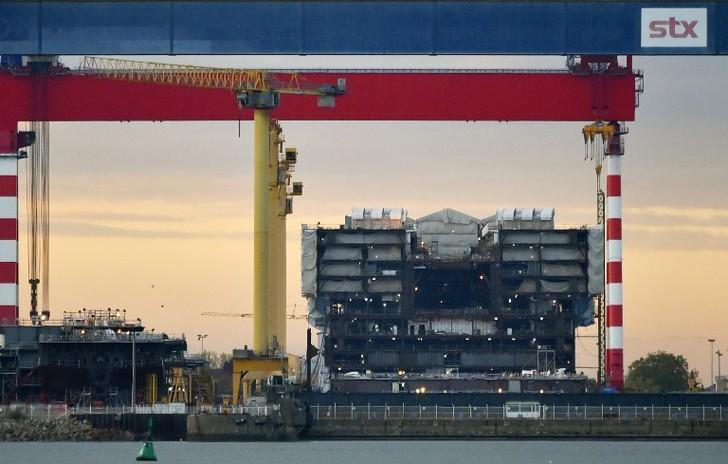 Les chantiers navals STX de Saint-Nazaire vont être rachetés par un constructeur italien.