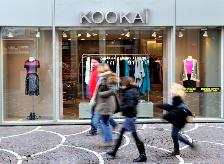 La restructuration de Vivarte, dont fait partie Kookai, inquiète ses salariés.