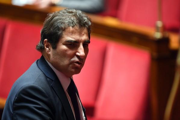 Le chef de file des députés LR Christian Jacob à Paris, le 24 janvier 2017 / AFP