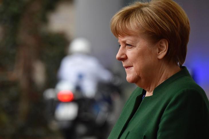 La chancelière allemande Angela Merkel, le 24 février 2017 à Berlin / AFP/Archives