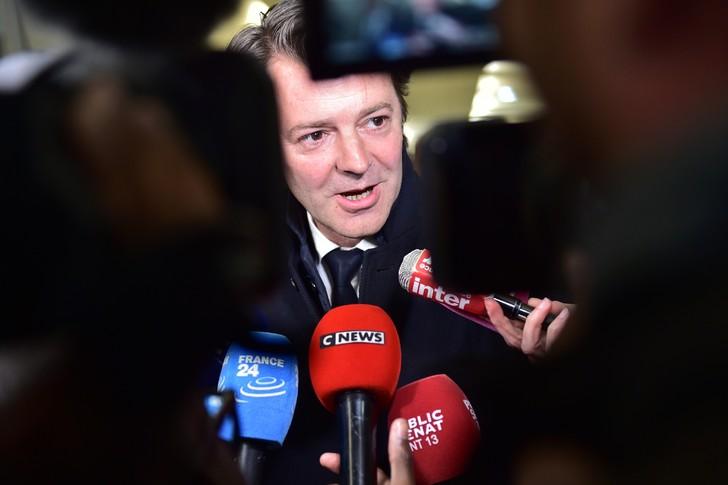 Francois Baroin, sénateur LR, le 2 mai 2017 à Paris / AFP