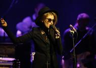 Die amerikanische Sängerin Melody Gardot am 10.