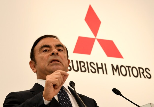 CEO of French car maker Renault at a press conference in Tokyo on October 20, 2016 / AFP / Archives