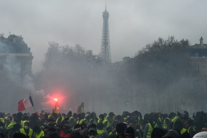 Demonstration of yellow jackets on 1 December 2018 on the Champs-Elysées, Paris / AFP / Archives