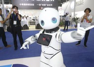 A robot to be seen at the China Hi-Tech Fair on November 14, 2018 in Shenzhe ...