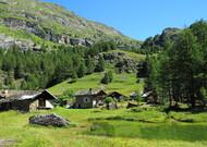 Le village de Monal, près de Miroir