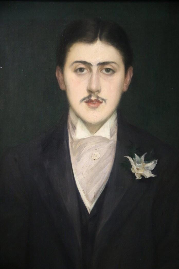 Portrait of Marcel Proust by Jacques-Émile Blanche./Sylvestre/MAXPPP