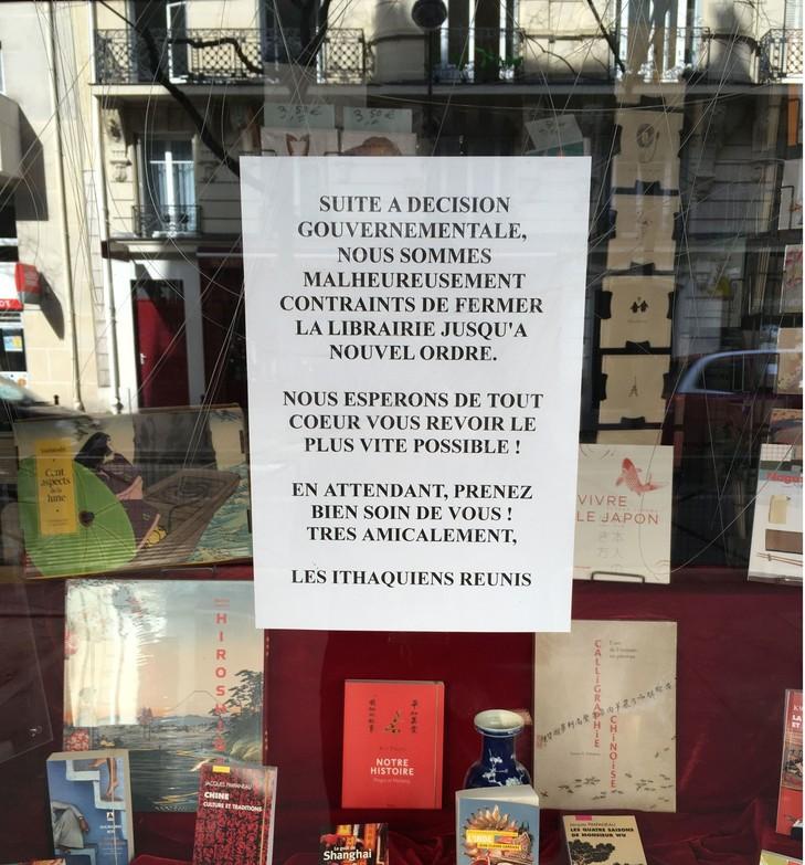 Book professionals and the coronavirus