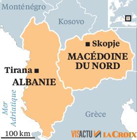 Albania and North Macedonia on the way to Europe