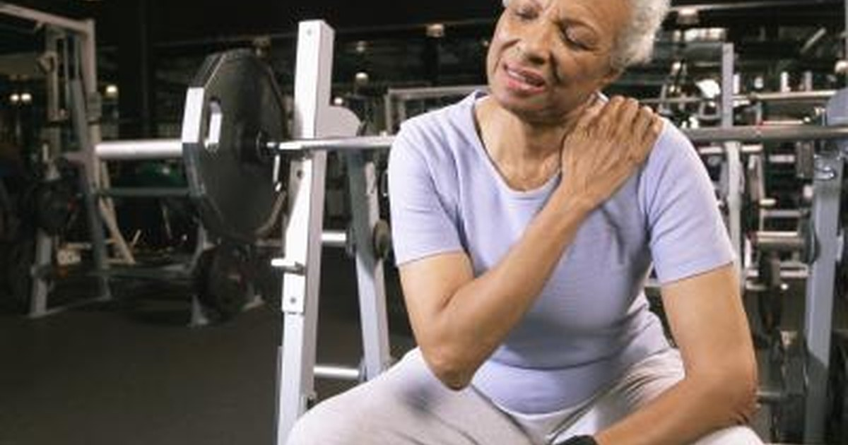 Burning Sensation In The Shoulder Muscles After Lifting
