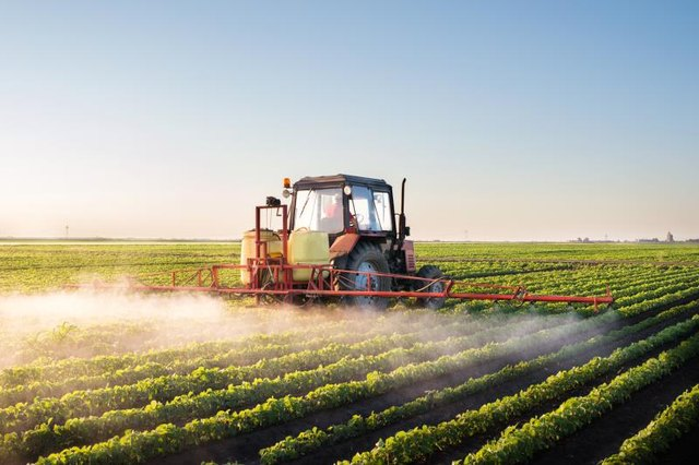 Chemicals from industrial spraying can find their way into water sources.