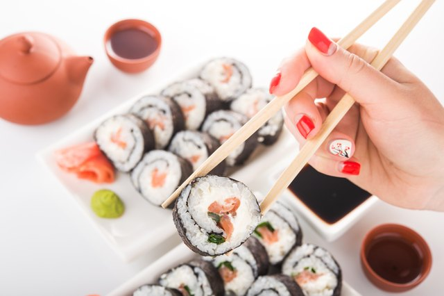 Ever wonder why sushi rice tastes so good? Traditional sushi rice is contains one tablespoon of added sugar per cup of cooked rice.