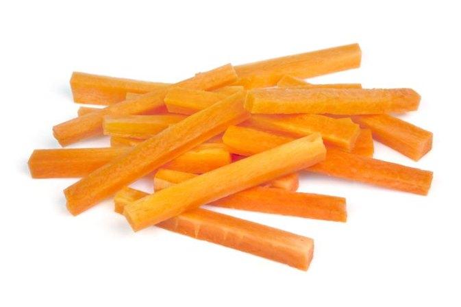 Resultado de imagem para carrot sticks