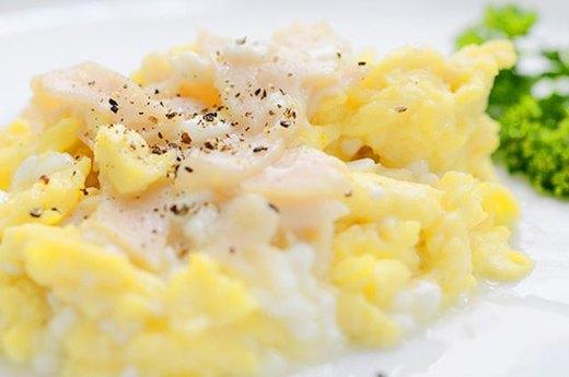 13. Turkey and Cheese Scramble