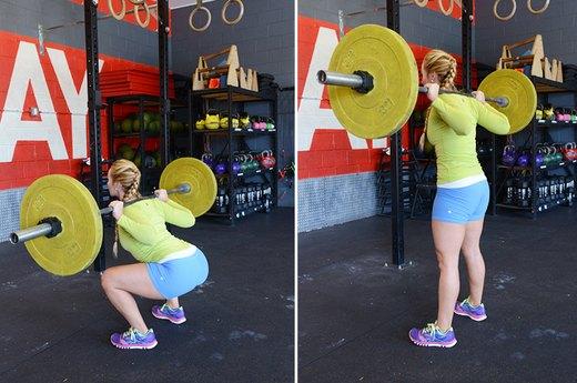3. The Back Squat