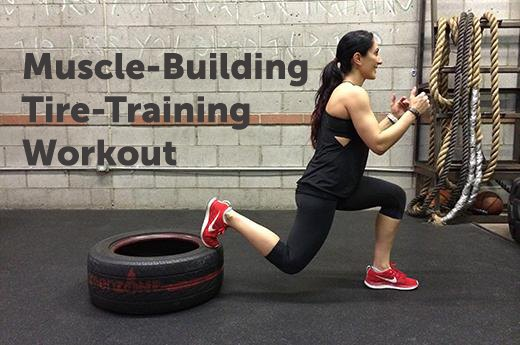14 Muscle Building Tire Training Moves Livestrong Com