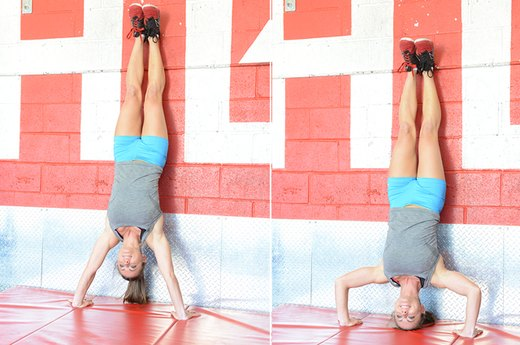 7. The Handstand Push-Up