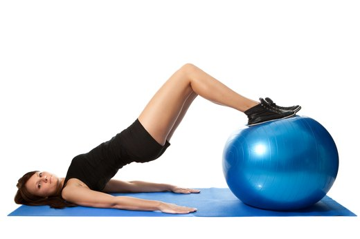 3. Replace Leg Curl Machine With Stability-Ball Leg Curl