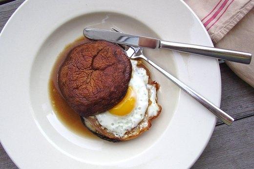 2. Portabella Egg Sandwich