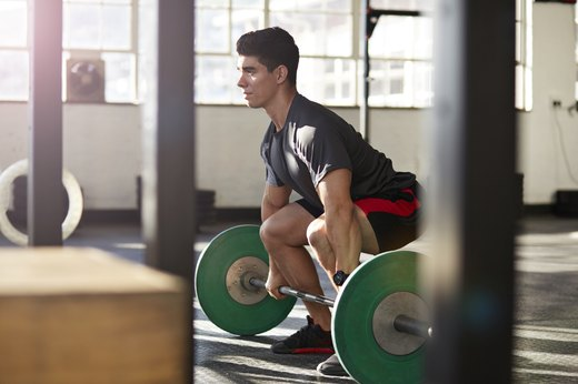 1. Replace Leg Press Machine With Barbell Squats