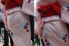 花火大会とかで着慣れない浴衣から透ける下着やパンチラがエロいwww