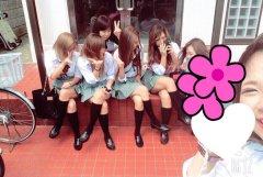 【非エロ】ギャル系な女子高生たちの日常を撮った画像