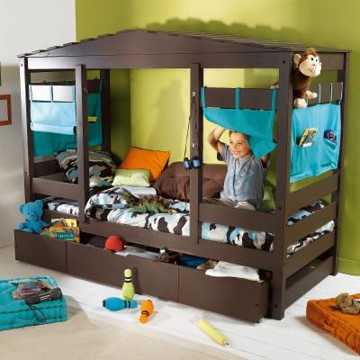 Двух-ярусные кроватки (44 фото) - детские двухъярусные ...