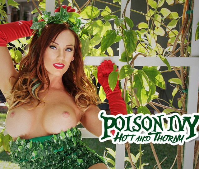 Poison Ivy Hot Thorny Vr Porn Video