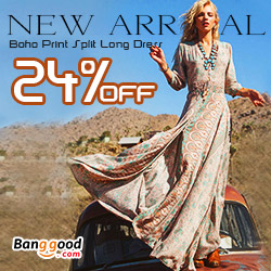 Banggood Fashion -Women Maxi Dresses