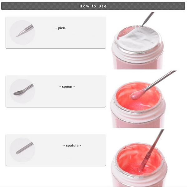Pro 2pc Rhinestones Picker Pencil Nail Art Gem Setter Pen Picking Tool Wax Crystal Dotting Pens