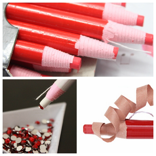 Aliexpress Nail Art Rhinestones Gems Picking Crystal Tool Wax Pencil Pen Picker Pickup Pens Decoration From Reliable