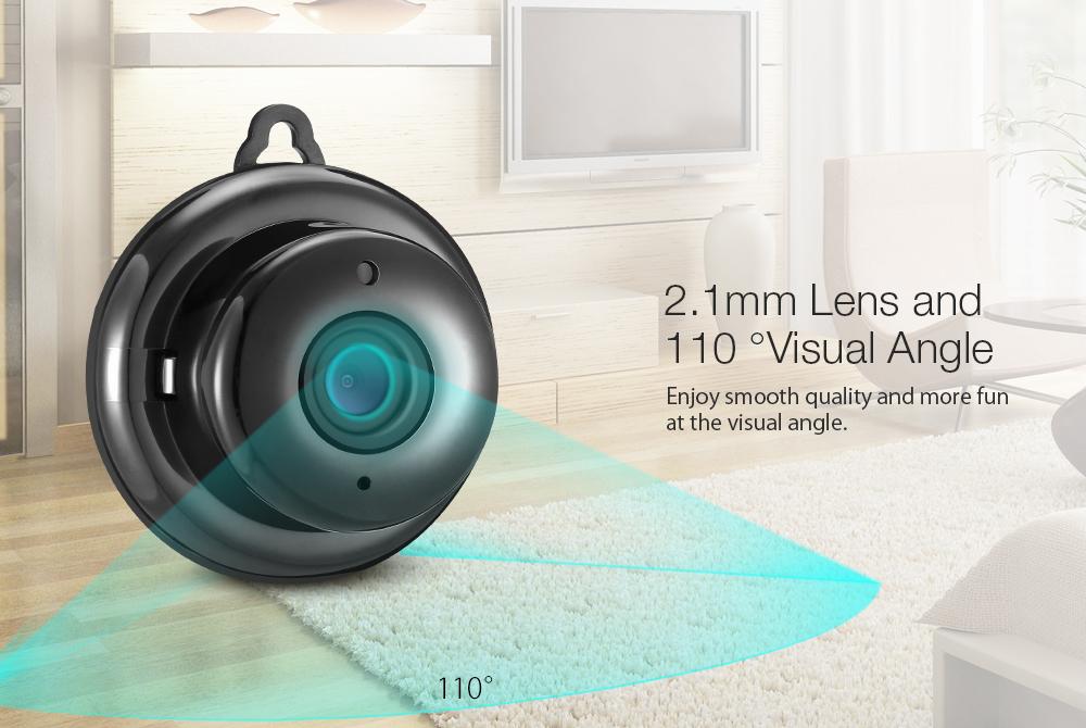 DIGOO DG-MYQ Amazon Web Service Cloud Storage 2 1mm Lens 720P WIFI