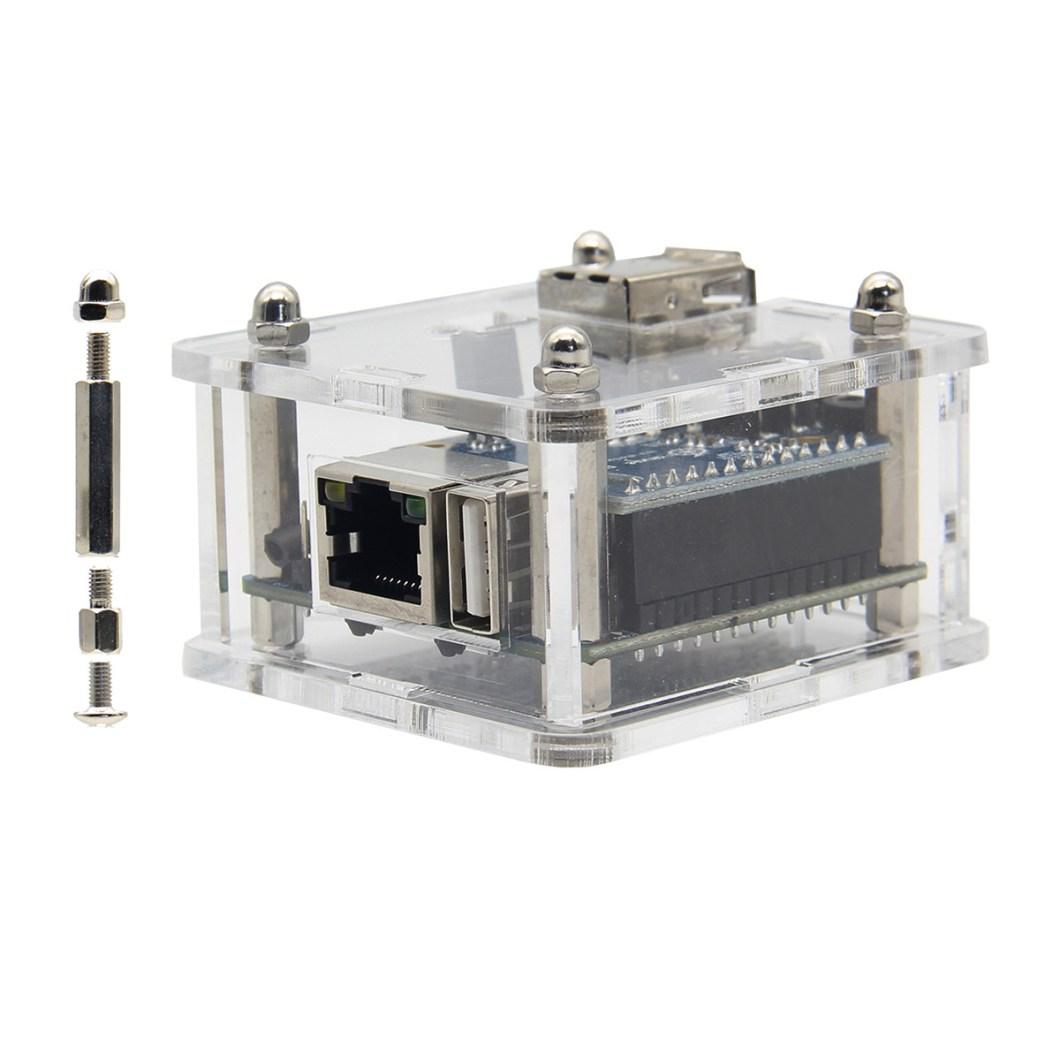 Acrylic Transparent Case Shell For Orange Pi Zero / Zero With Expansion Board 7