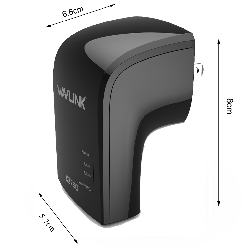 Wavlink 750Mbps Dual Band 3 in One Wifi Repeater Router Built-in Antenna UK/EU/US Plug 34