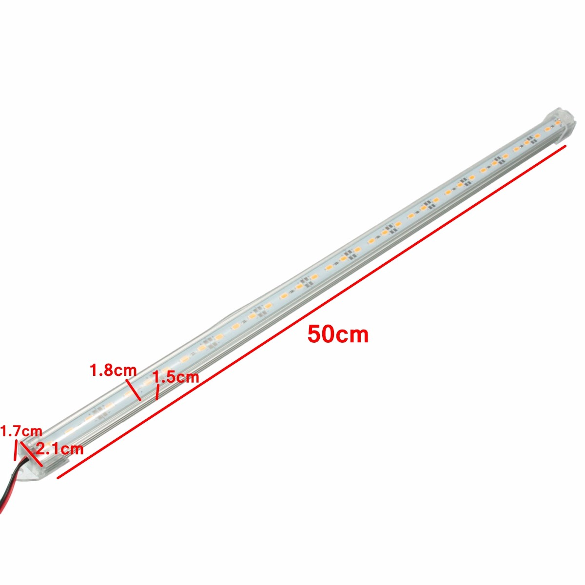 12v 50cm Led Strip Light Bar Smd Interior Lamp For
