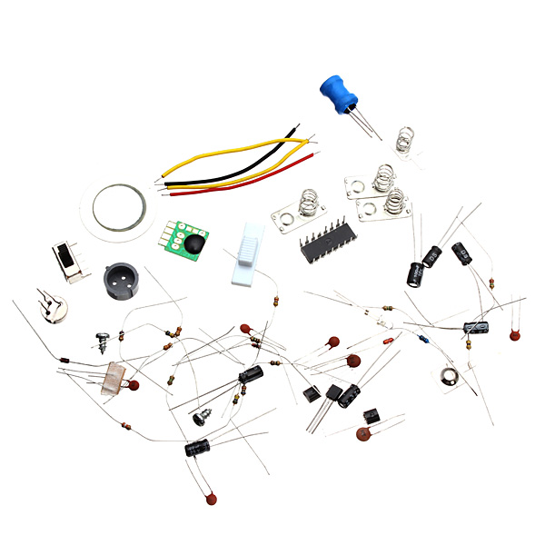 5Pcs Infrared Electronic Alarm Kit Electronic DIY Learning Kit 27