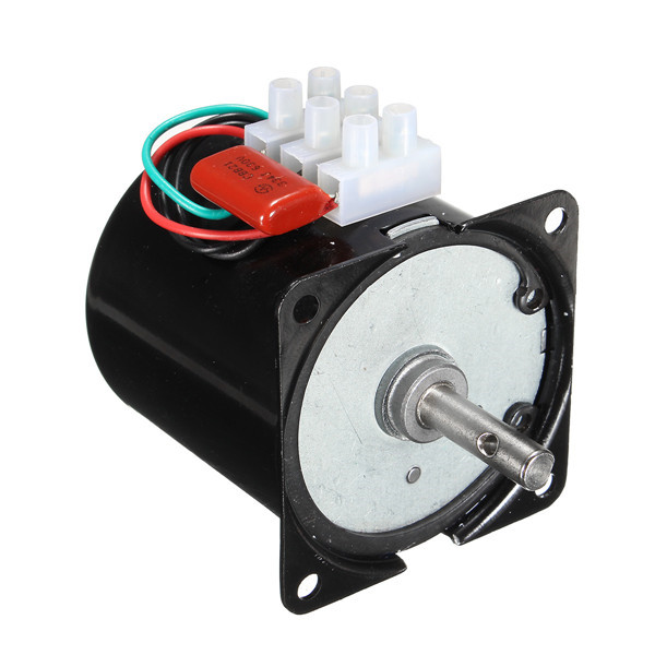 220V 5rpm Permanent Magnetic Motor Synchronous Gear Motor