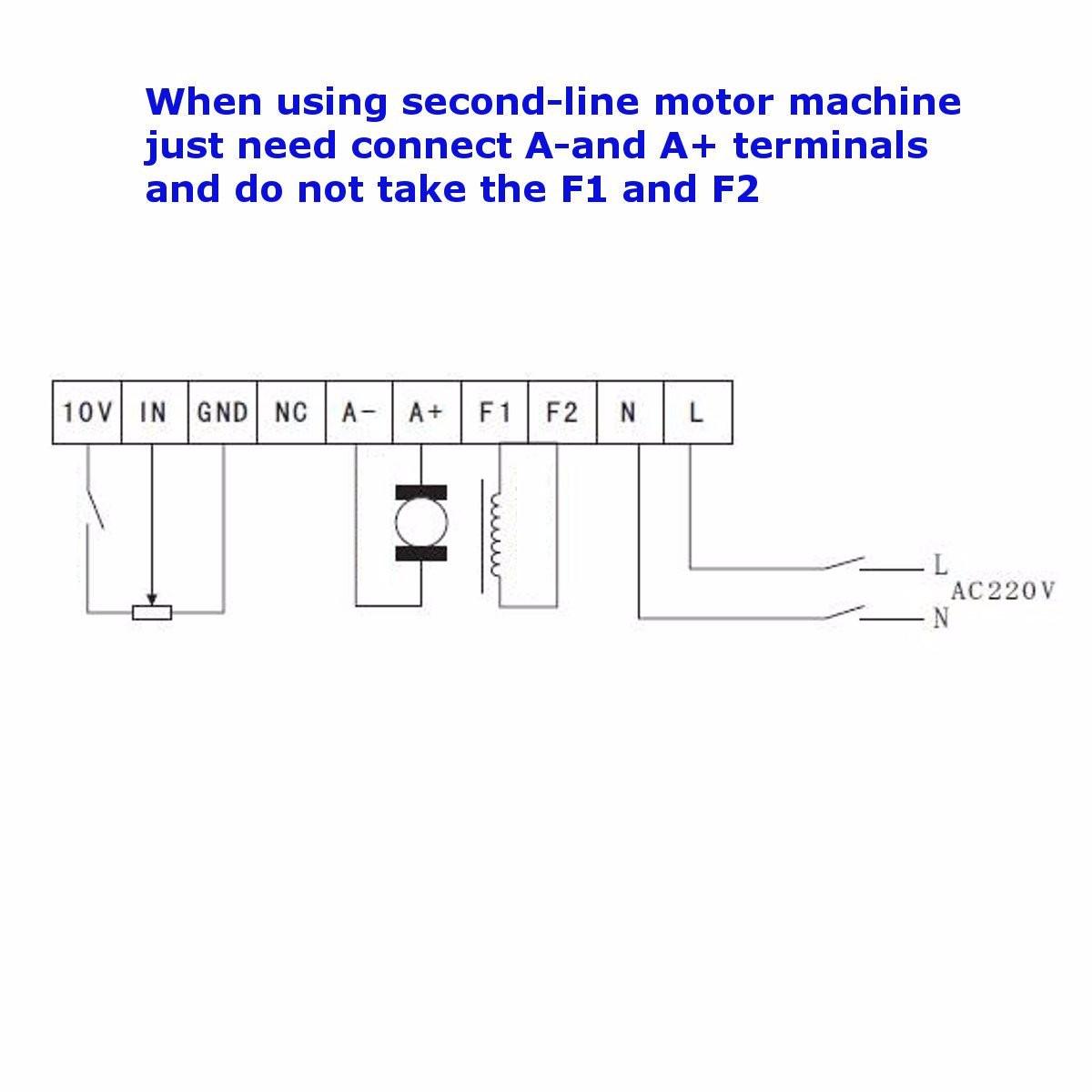 1200W Motor Speed Controller Input AC220V Output DC 0-220V