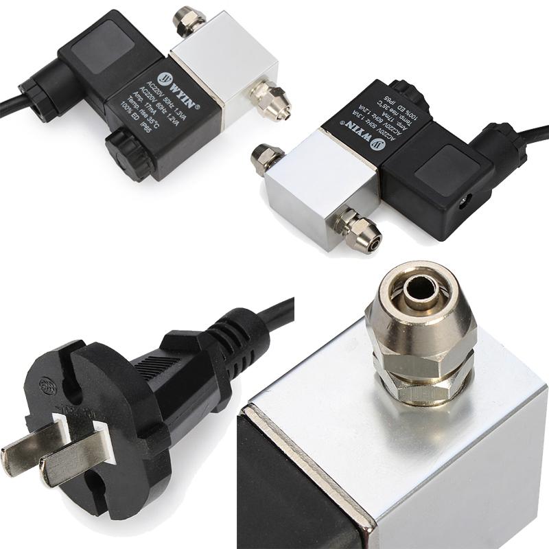 DIY CO2 Generator Dedicated Low temperature Double Interface Electromagnetic Valve