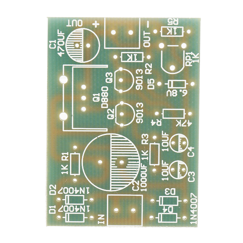 3Pcs DIY D880 Transistor Series Power Supply Regulator Module Board Kit 34