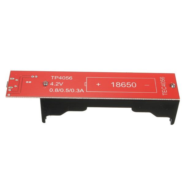 5pcs 18650 Battery Charging Holder Charging Board TP4056 0.3A / 0.5A / 0.8A 10