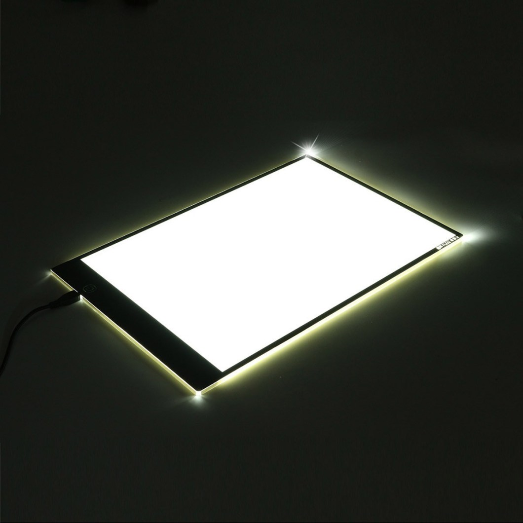 M.Way Ultra Thin A2 A3 LED Copy With USB Cable Adjustable Brightness Drawing Pad Copy board 11