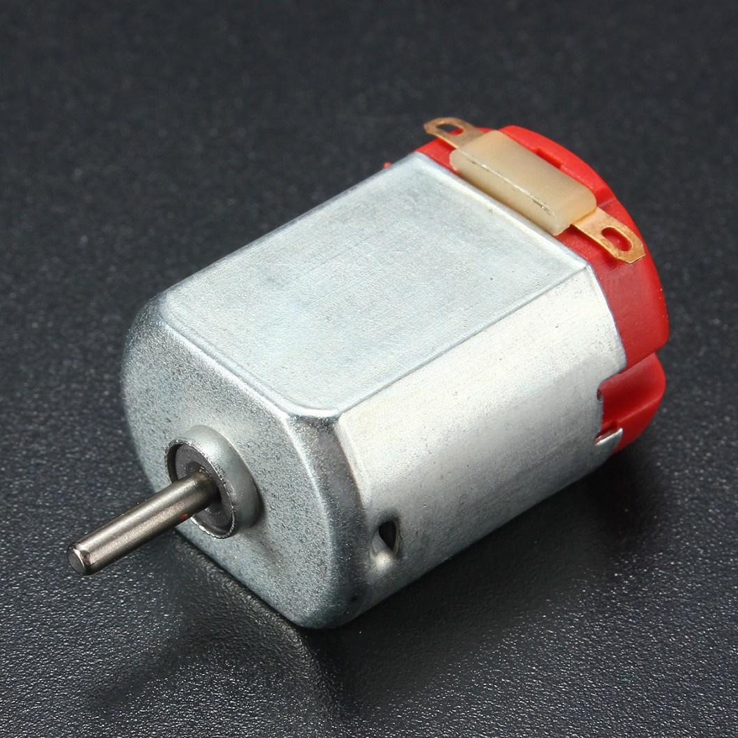 10PCS R130 Motor Type 130 Hobby Micro Motors 8000 RPM 3-6V DC 0.35-0.4A 28