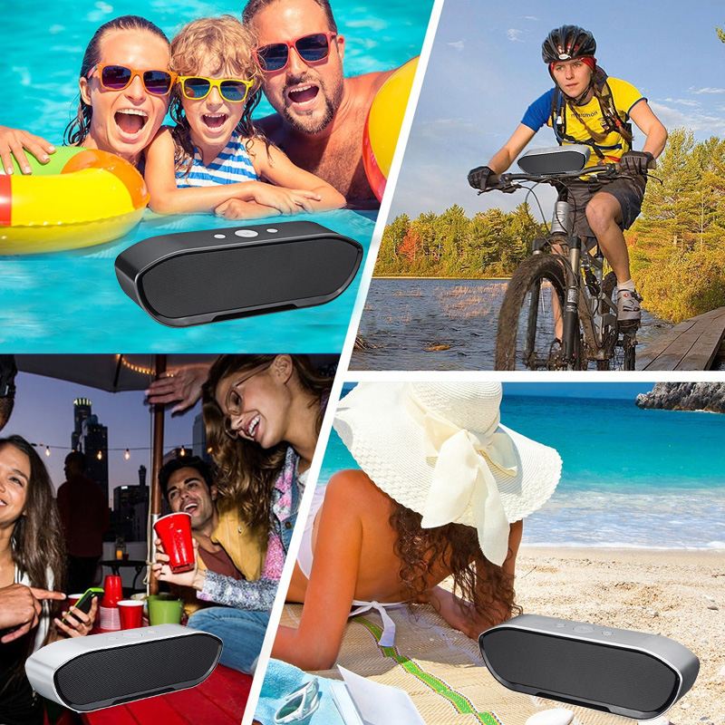 CY-01 Wireless Bluetooth Speaker 3D Stereo TF Card USB Play Outdoors Subwoofer for iPhone Xiaomi 40
