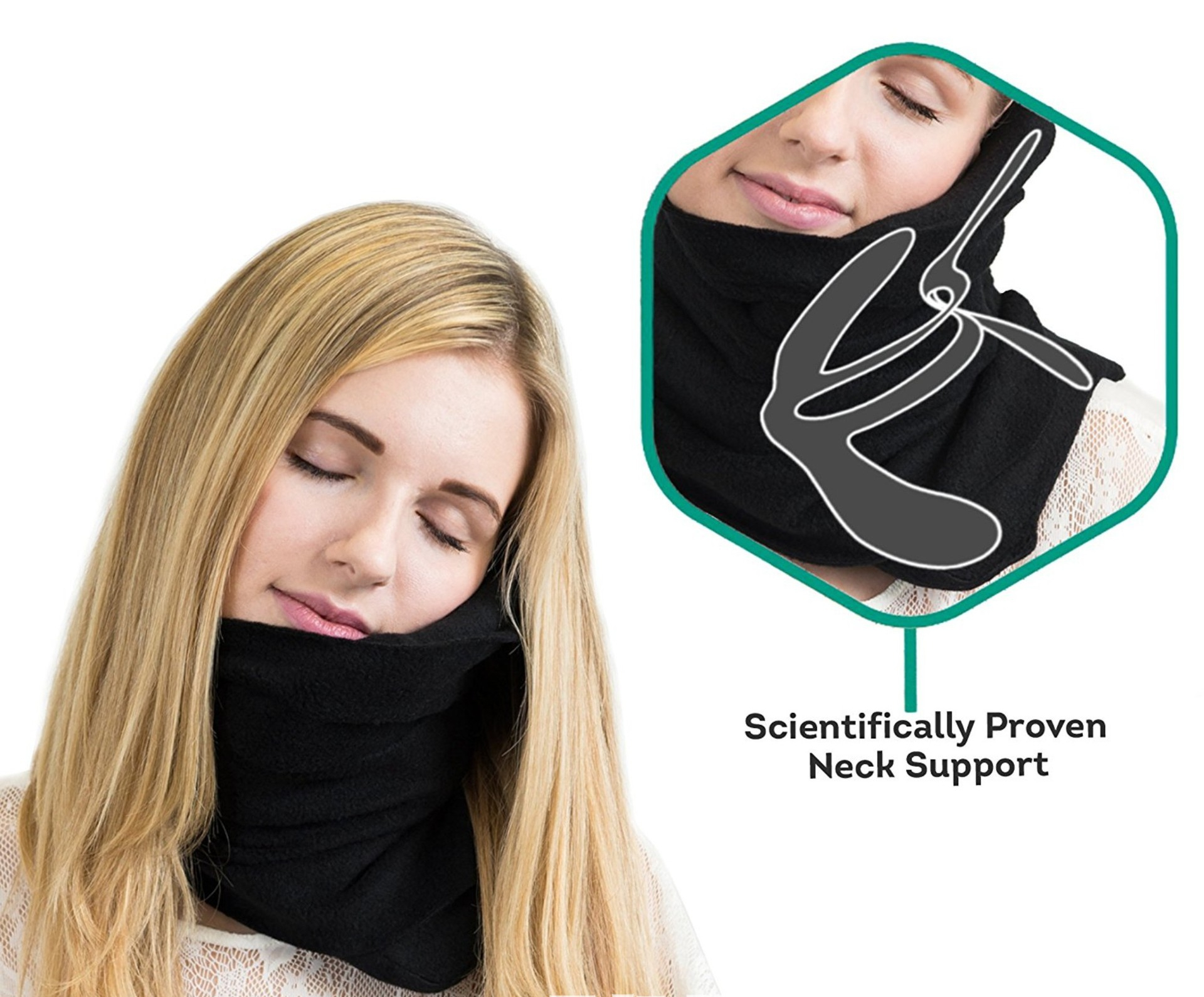 Comfortable Hammock Effect Hold Neck Support Outdoor