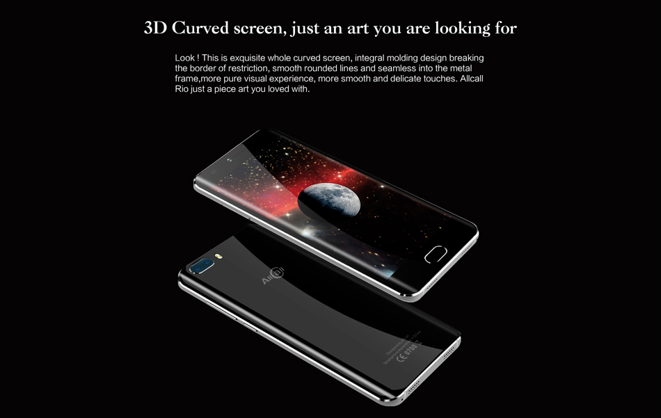 AllCall Rio 5.0-Inch Android 7.0 Dual Rear Cameras 1GB RAM 16GB ROM MT6580A Quad-Core 3G Smartphone