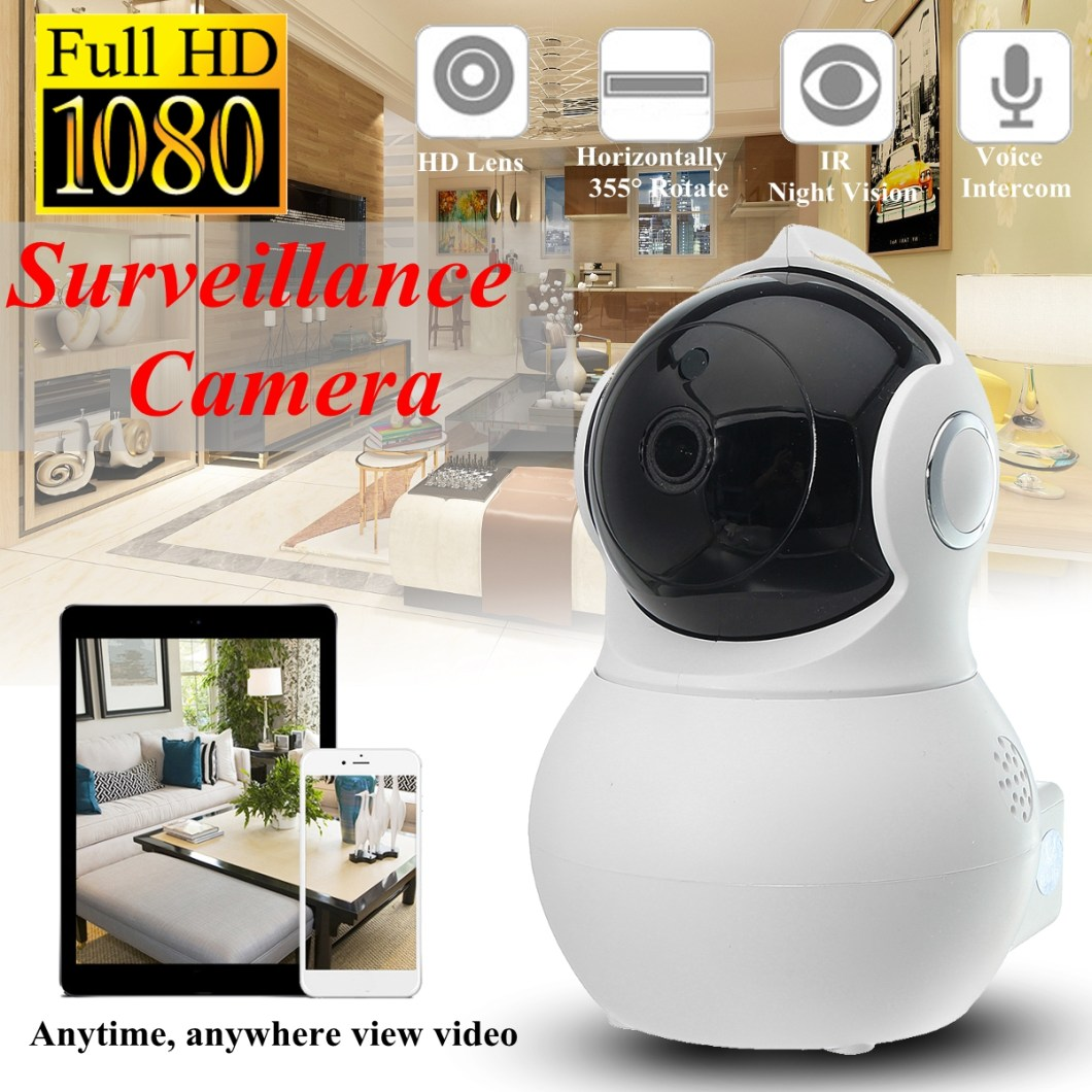 Q8 Home Security 1080P HD IP Camrea Wireless Smart WI-FI Audio CCTV Camera Webcam 14