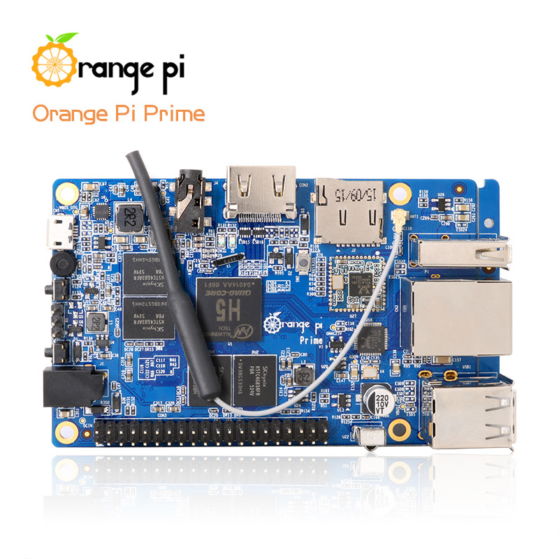 Orange Pi Prime Development Board H5 Quad-core 2GB DDR3 SDRAM Mini PC 9