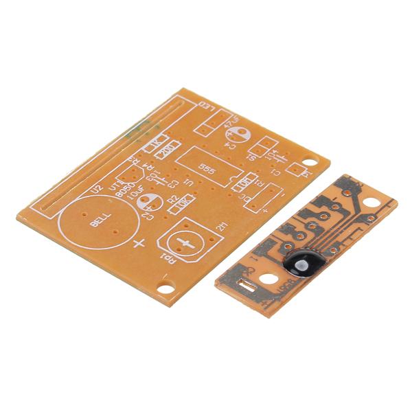 3Pcs DIY Touch Vibration Alarm Kit Electronic Training Teaching 16