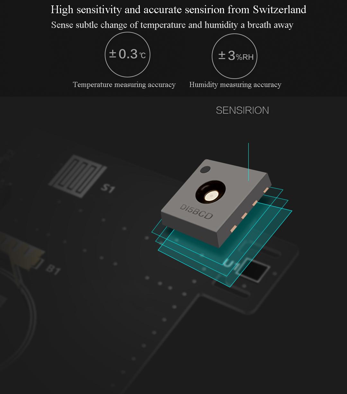 Resultado de imagem para xiaomi hygrometer